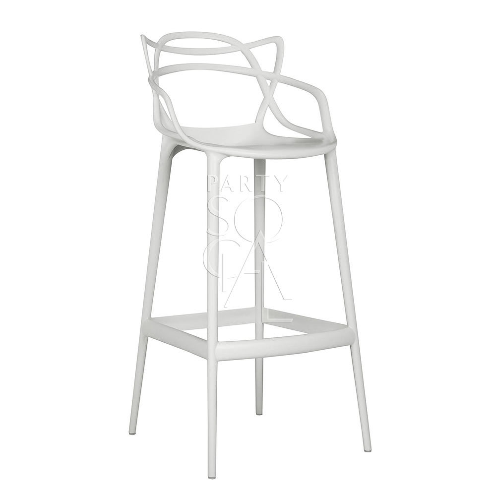Masters Stool White Replica