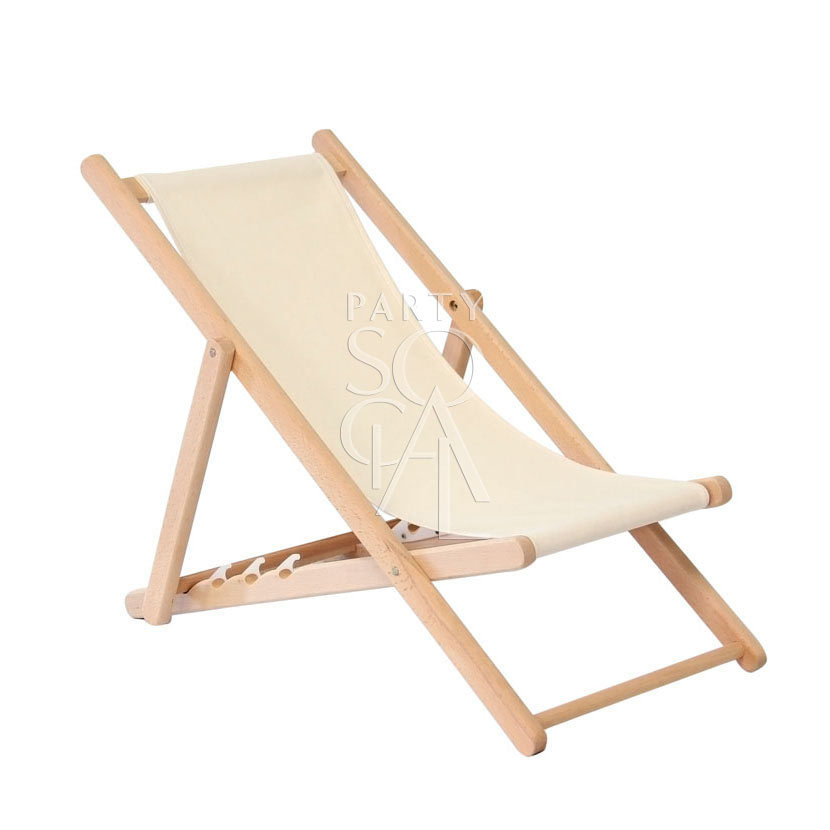 Wooden Deckchair Child
