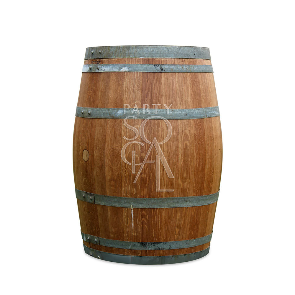 Rustic Wine Barrel Table 225ltr