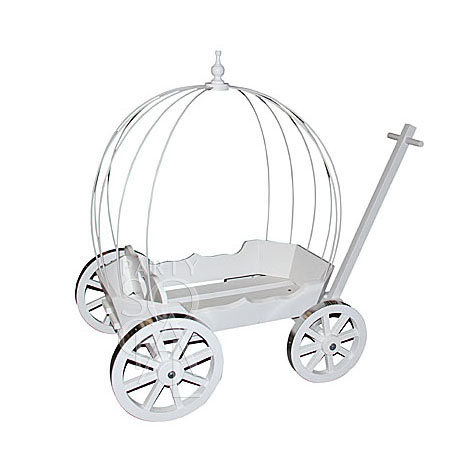 Baby White Carriage