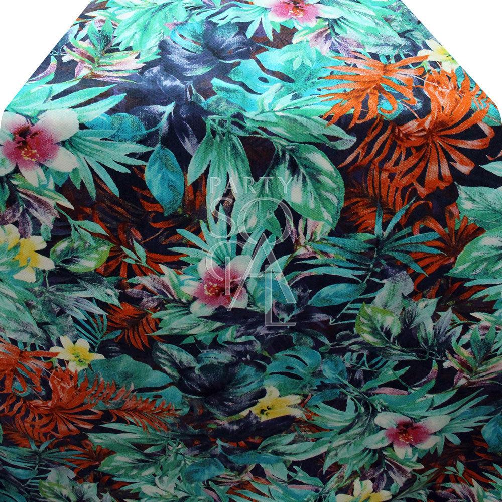 Runner - Floral Print 335x70cm