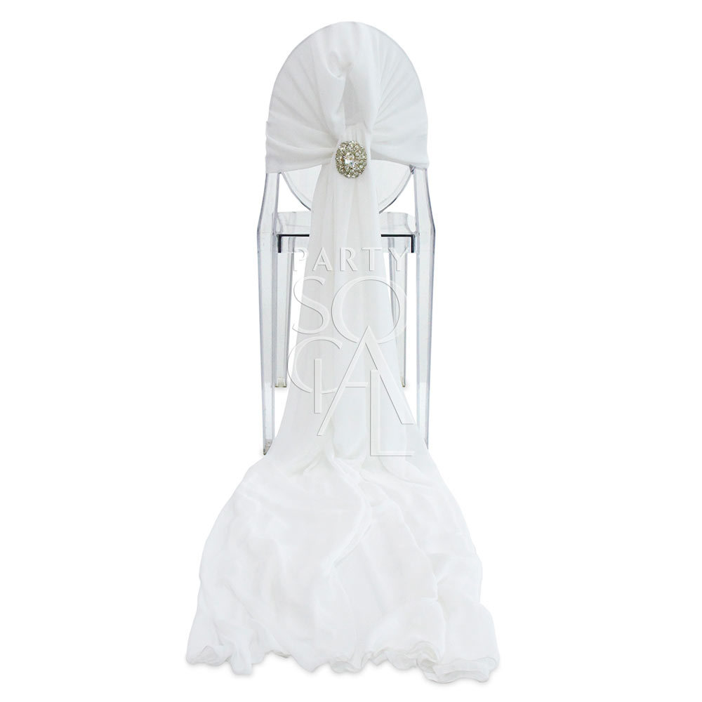 Chair Cover Full Chiffon