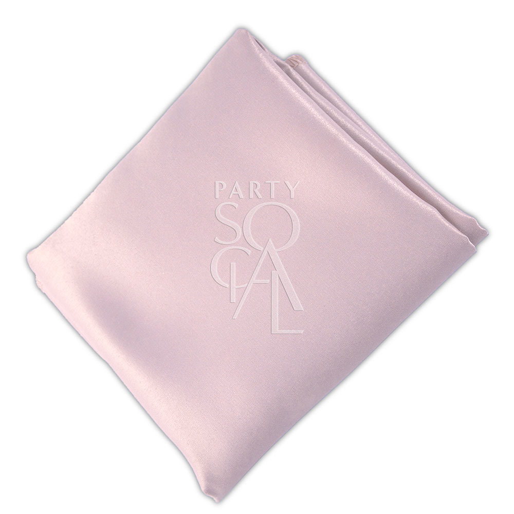 Napkin  Blush Pink  Satin