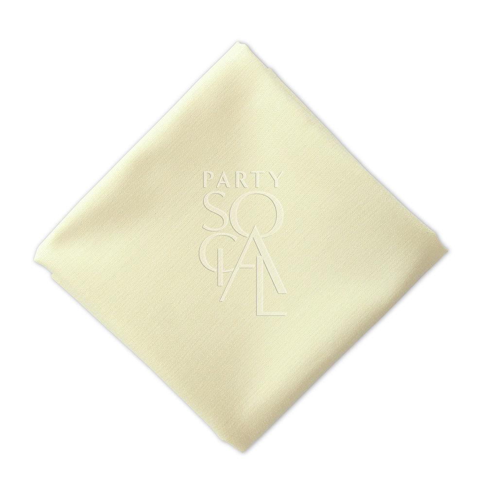 Napkin  Cream  Linen Blend
