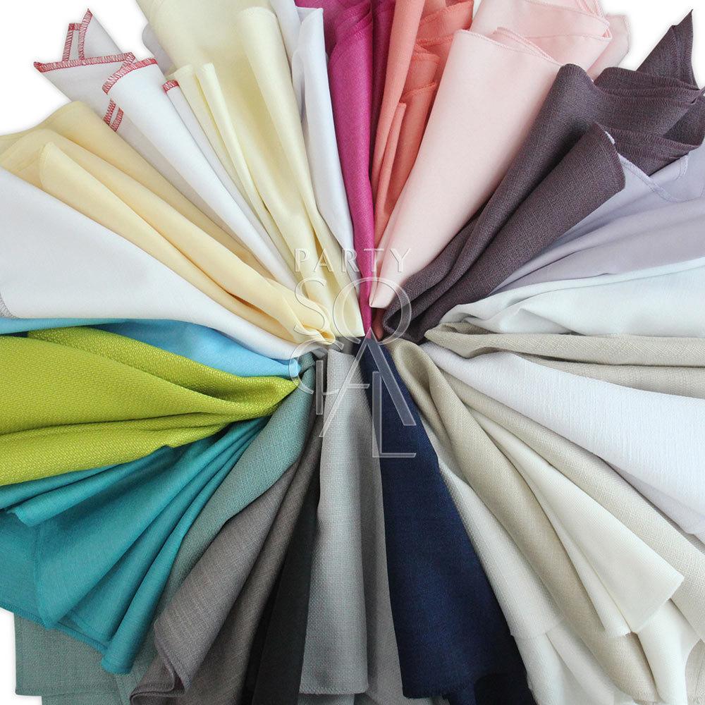Napkin Custom Linen/Polycotton/Cotton 50x50cm