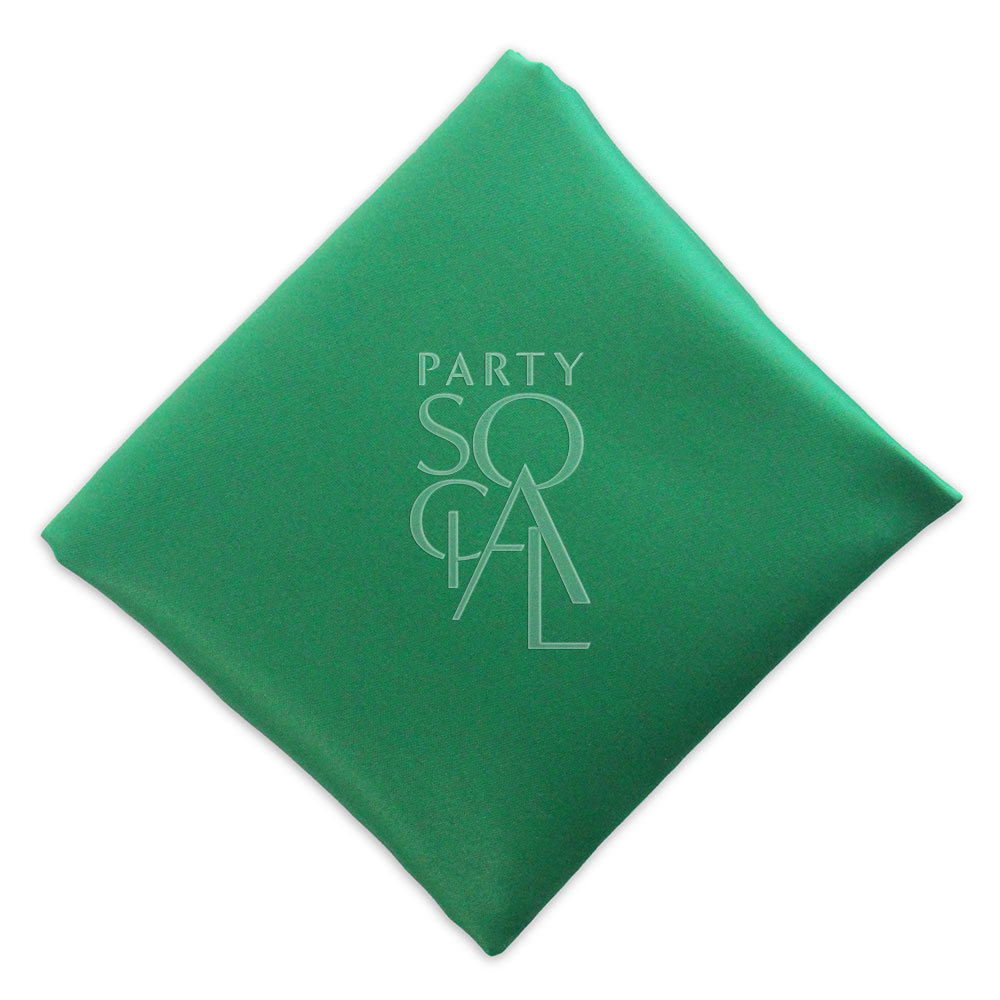 Napkin  Forest Green  Satin
