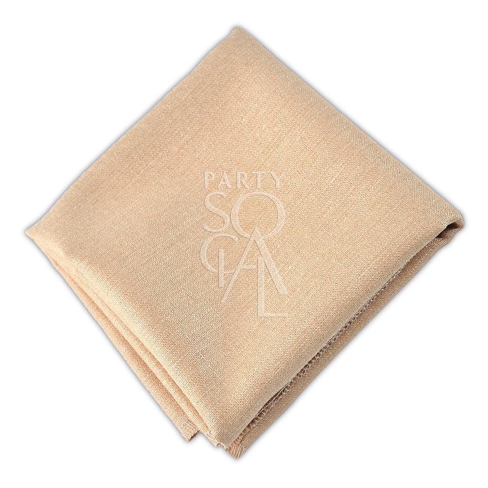 Napkin  Gold  Linen Blend