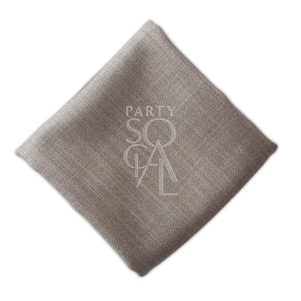 Napkin  Grey  Linen Blend