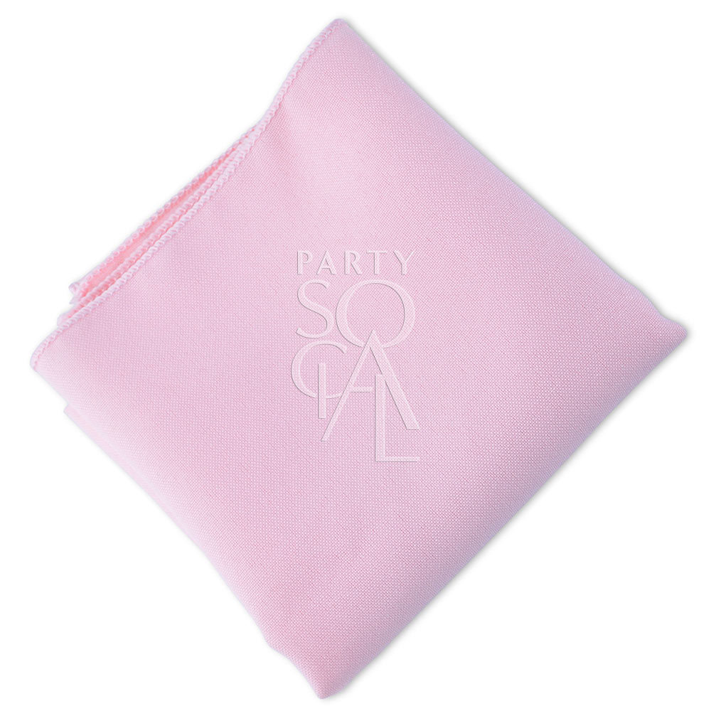Napkin  Light Pink  Polycotton