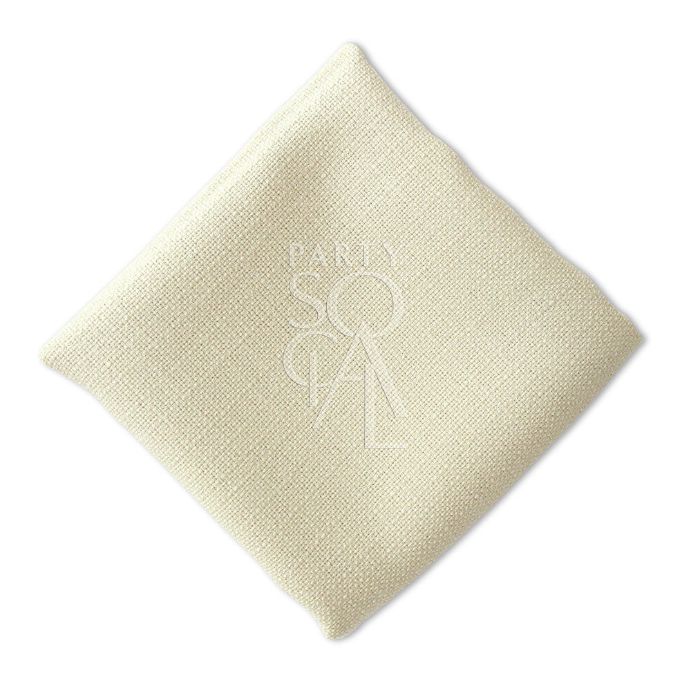 Napkin  Light Sand  Linen Weave