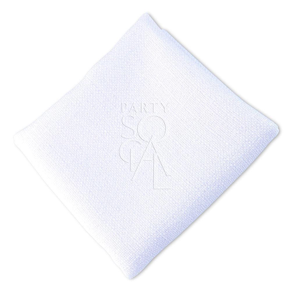 Napkin  Pure White  Linen Weave