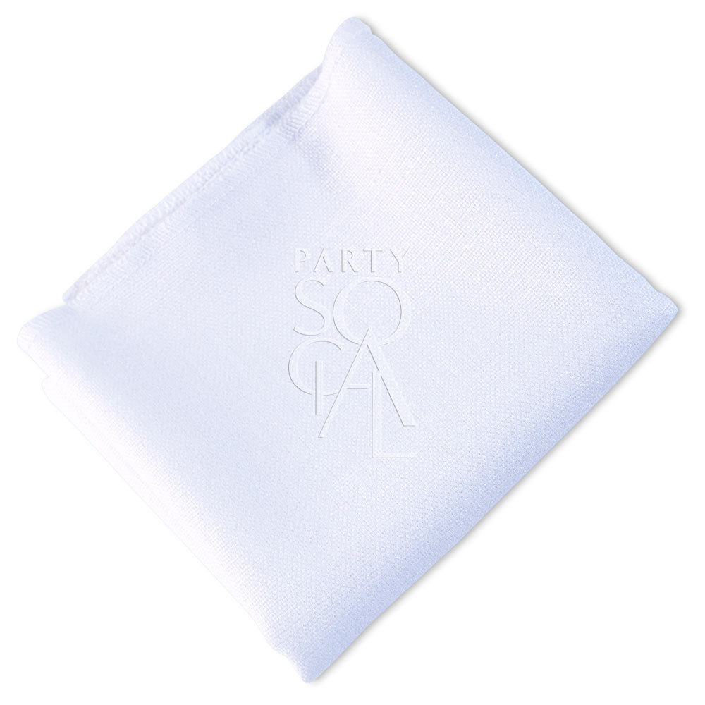 Napkin  White  Linen Blend