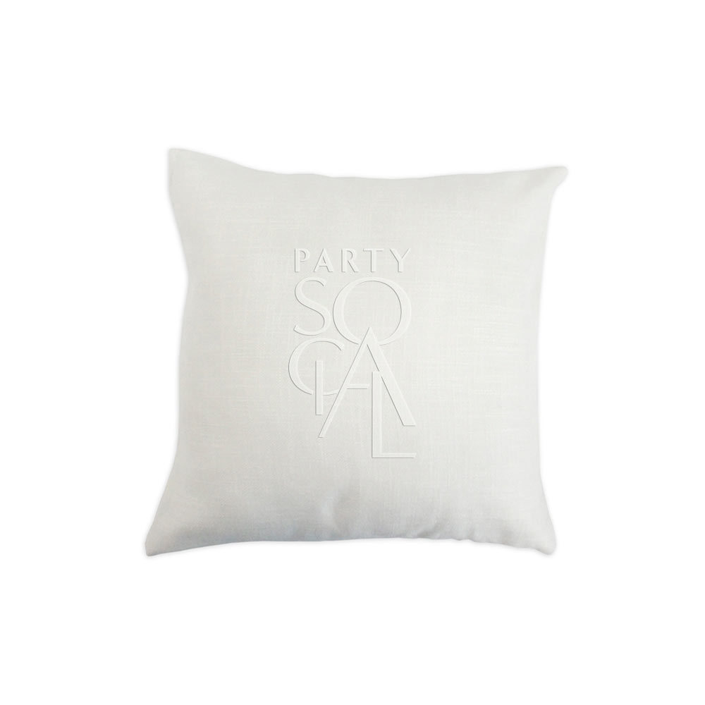 Cushion Off White Linen 40x40cm
