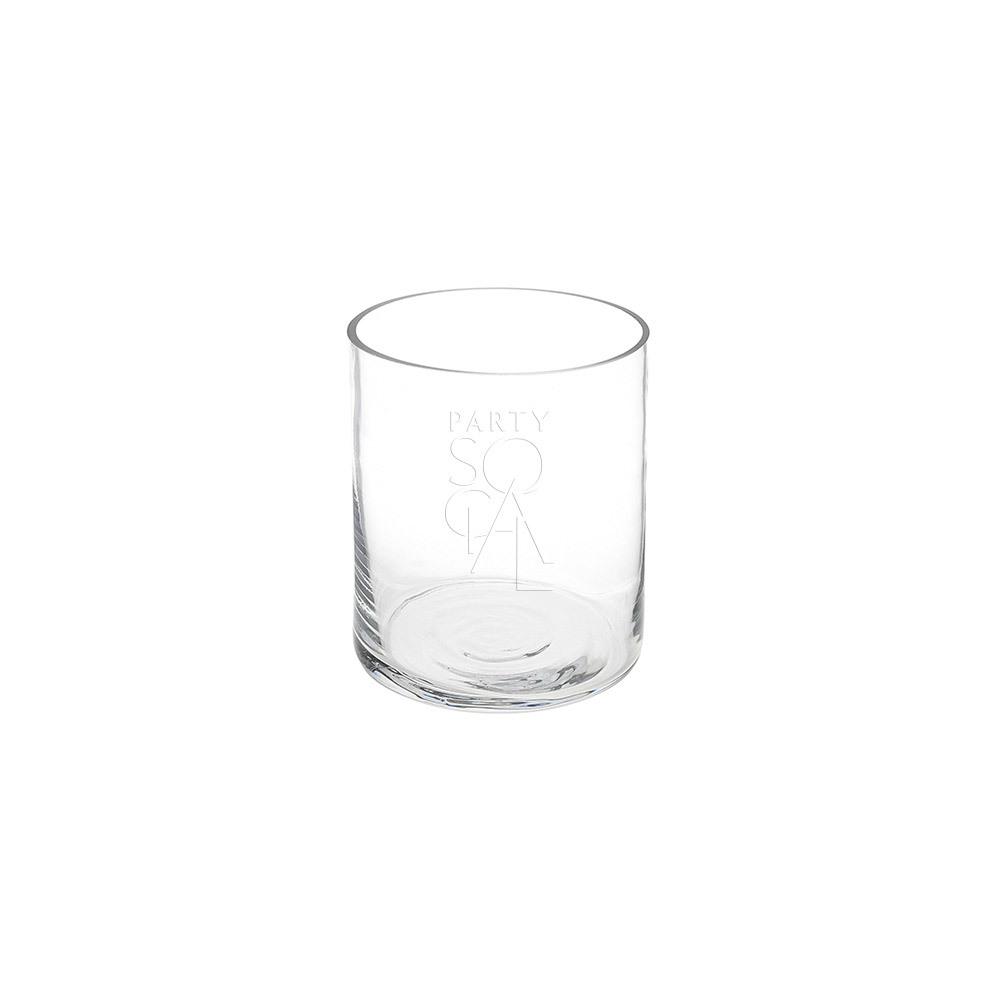 Cylinder Vase 15cm H x 12.5cm Dia
