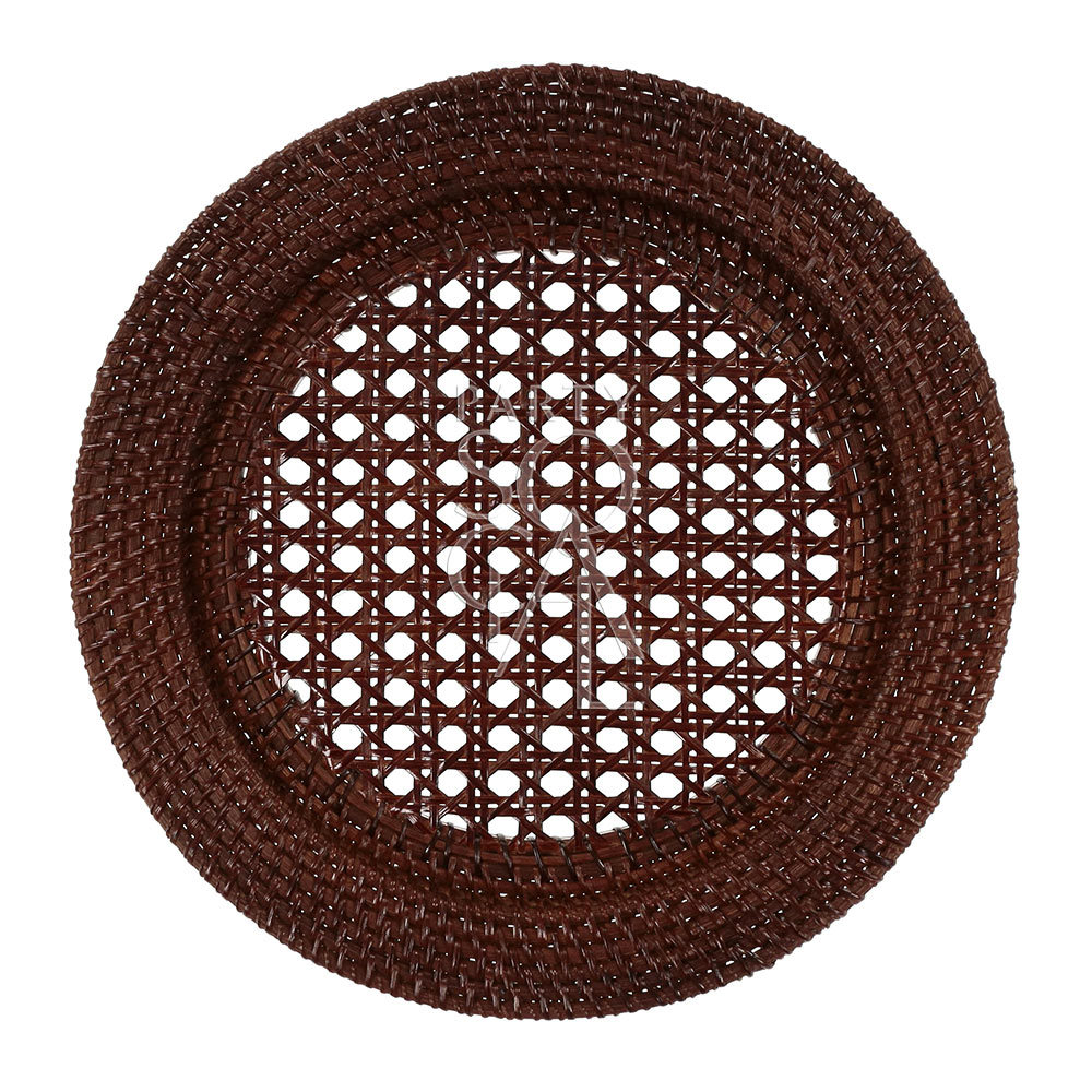 Charger Plate - Brown Rattan 13