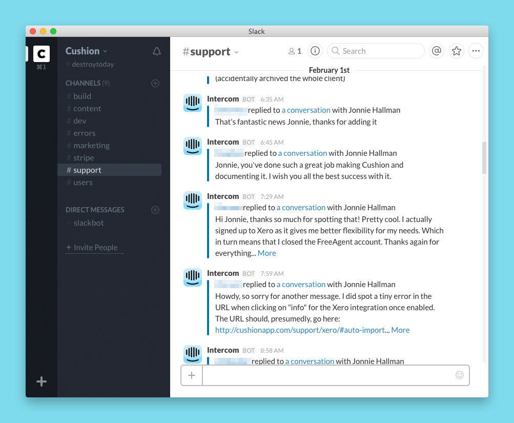 slack-for-notifications-support