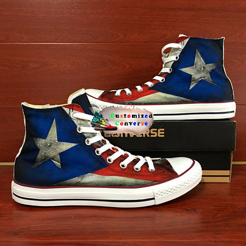 on sale 4cdc6 babe9 Puerto Rico Flag Shoes - converse shoes - custom converse - customized  converse