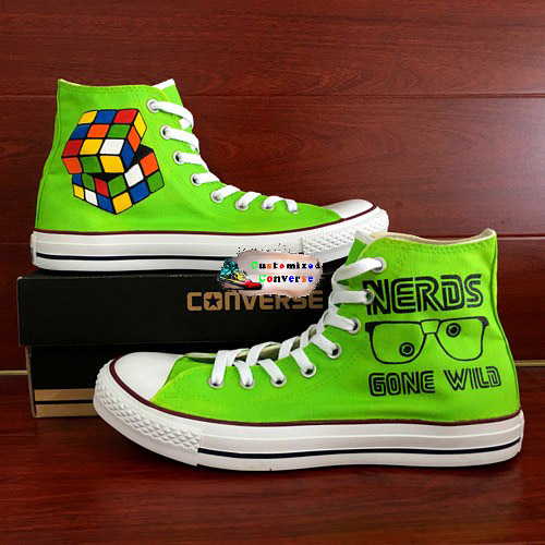 Nerd Shoes - converse shoes - custom converse - customized converse - converse shoes - custom converse - customized converse