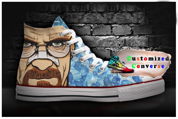 2b9dfad5590c Breaking Bad Walter White Shoes - converse shoes - custom converse -  customized converse
