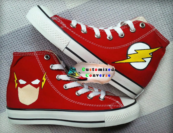 Flash Shoes - converse shoes - custom converse - customized converse - converse shoes - custom converse - customized converse