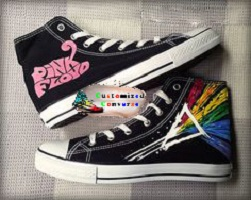 29a9bdbcc845 Pink Floyd Shoes - Custom Converse Shoes by CustomizedConverse.com