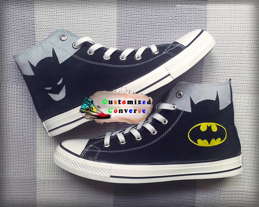 bfa574fbf06d Batman Converse Shoes - converse shoes - custom converse - customized  converse