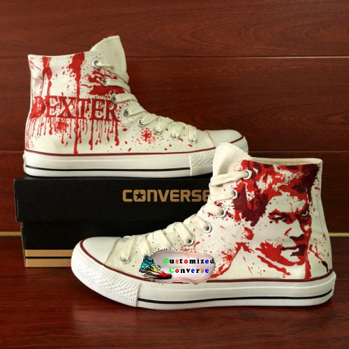 Dexter Shoes - converse shoes - custom converse - customized converse