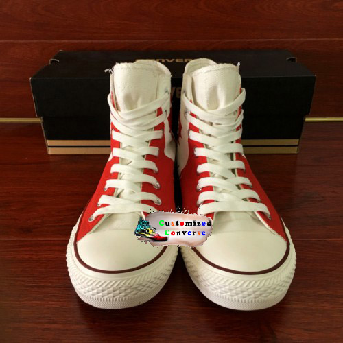 acb3a52f911d Canada Flag Shoes - converse shoes - custom converse - customized converse