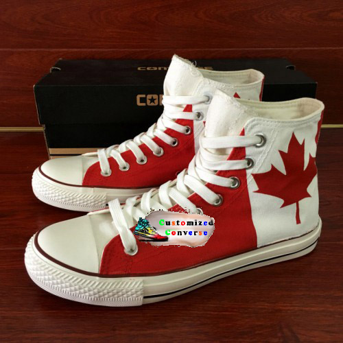 ac06cff08ea6 Canada Flag Shoes - Custom Converse Shoes by CustomizedConverse.com