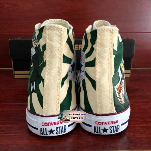 Bleach Urahara Shoes - converse shoes - custom converse - customized converse