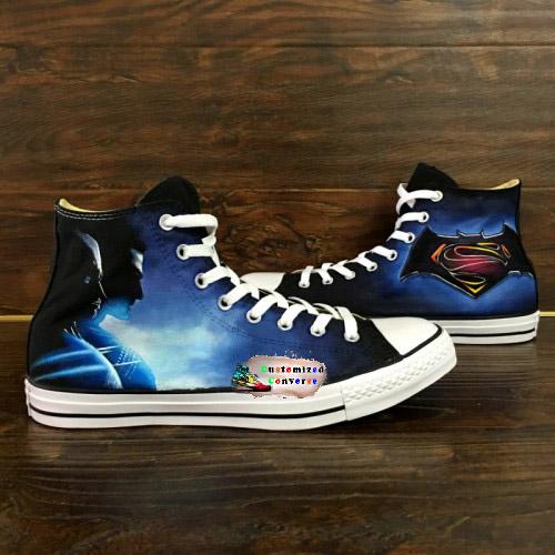 Batman Superman Shoes - converse shoes - custom converse - customized  converse be48ddabd
