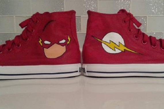 Flash Shoes - converse shoes - custom converse - customized converse