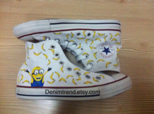 Minions Banana Shoes