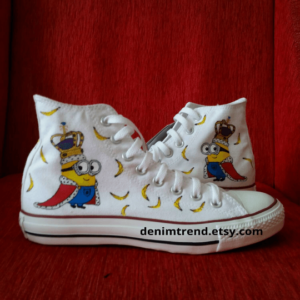 Minion King Bob Shoes