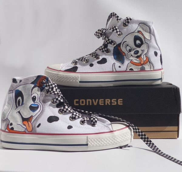 Dalmatian Shoes - converse shoes - custom converse - customized converse