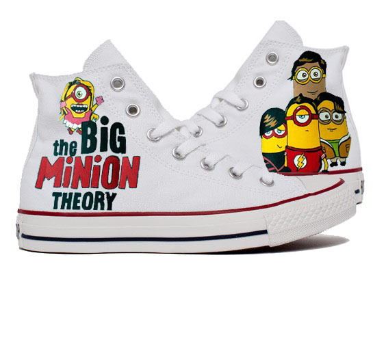 Bigbang Minions Shoes - converse shoes - custom converse - customized converse