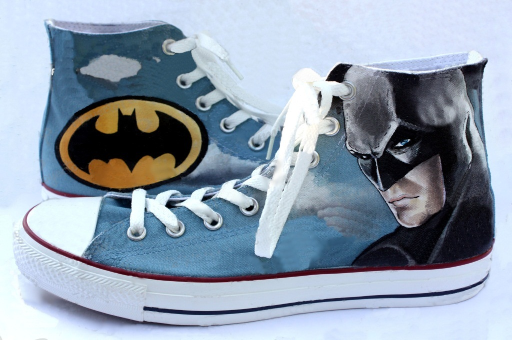 Hand Painted Custom Converse Shoes. Home » Movies » Batman Shoes. 🔍.  Batman Shoes - converse shoes - custom converse - customized converse de03c9f1f