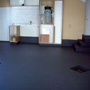 Garage Floor Custom Gray