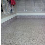 Garage Floor Vinal Flec Polyaspartic