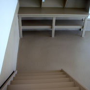 Garage Floor Workbench Staircase Polyurethane