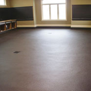 Garge Floor Walnut Brown Polyurethane