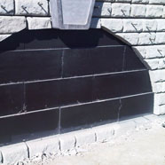 Retaining wall tunnel Sprayed on Polyurethane