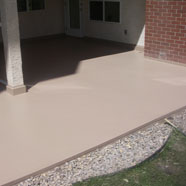 Sandstone Armorthane Concrete Deck