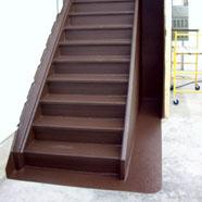 Staircase Walnut Polyurethane