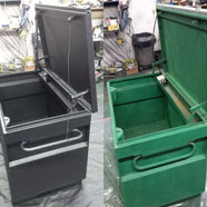 Tool Box before and after