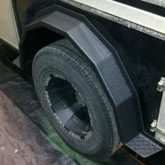 Wheel Cover Polyurethane