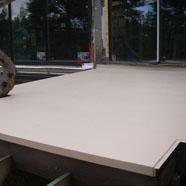 Wooden Deck Polyurethane Sandstone