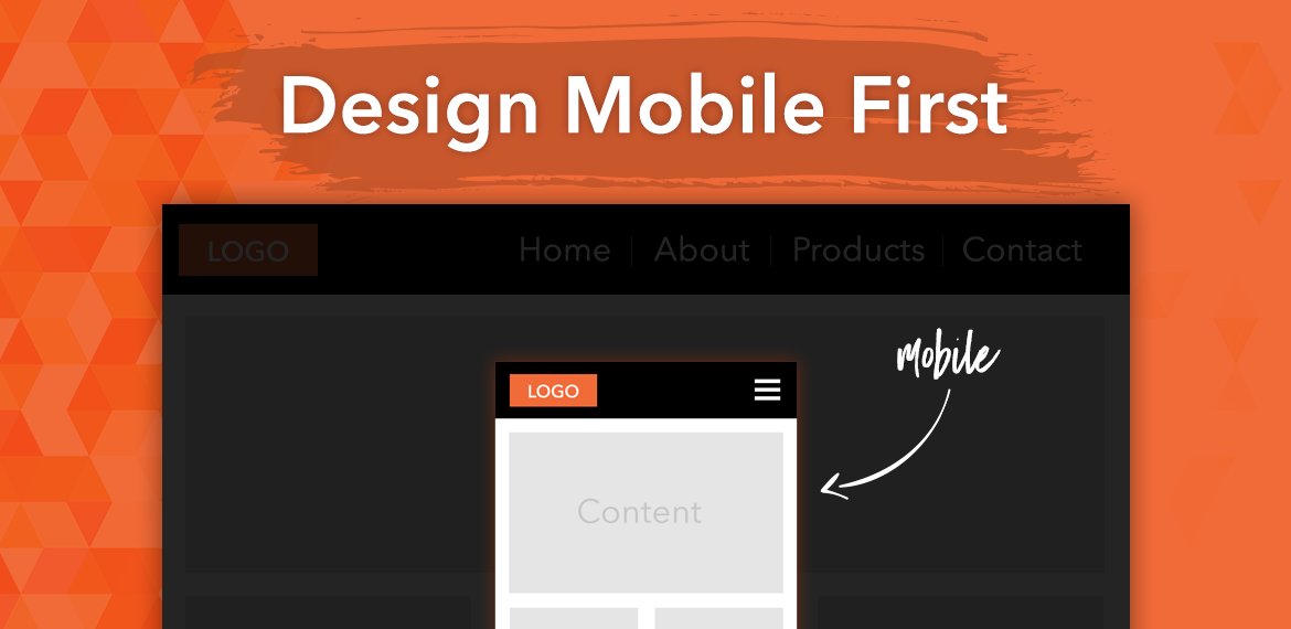 Mobile first design mehtod