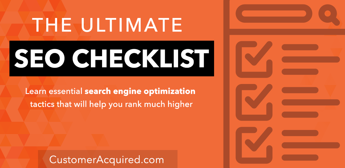 The Ultimate SEO Checklist for Search Engine Optimization Featured Image