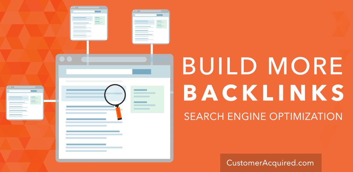 Build More Backlinks for SEO